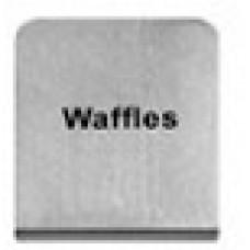 WAFFLES - BUFFET SIGN