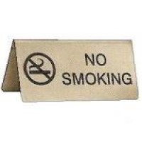 No Smoking table