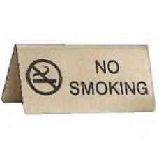 No Smoking table