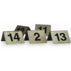 Table Numbers 11 - 20