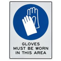 Gloves Must Be Worn