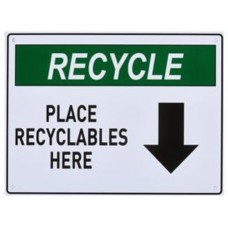 Place Recyclables Here