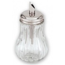Bloated Glass Sugar dispenser