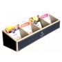 Prestige Leather Four Compartment Sachet Holder