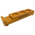 Eartherapy Wooden Display Tray for 3 bottles