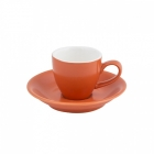 Intorno Espresso Cup 85ml and Saucer Set - Jaffa