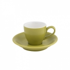 Intorno Espresso Cup 85ml and Saucer Set - Bamboo
