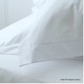 King Tailored White 50/50 Percale Pillowcase